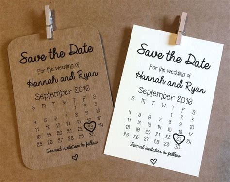 details   personalised magnetic save  date cards