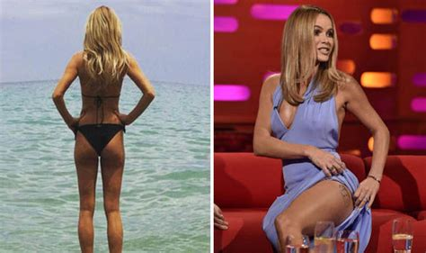 Amanda Holden Never Afraid To Flaunt Her Enviable Figure