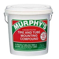 murphys original concentrated tire  tube mounting