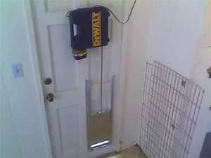 remote controlled pet door youtube With electronic dog door opener