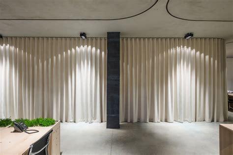 un curtain office by dekleva gregoric architects