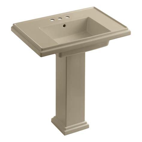kohler k 2845 4 96 tresham 30 inch pedestal bathroom sink