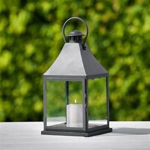 Lanterne Pour Bougie : lanterne bougie louisiana l lanterne en fer philippi grande lanterne hexagonale sur pied ~ Preciouscoupons.com Idées de Décoration