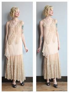 1920s wedding dress love grace silk and lace wedding With vintage 20s wedding dresses
