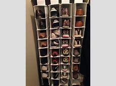 Simple DIY Shoe Rack Storage Behind The Door For Small And