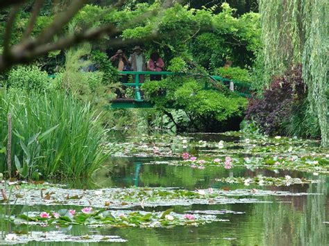Jardin De Giverny Canvas by Fren 102 Beginners French Ii