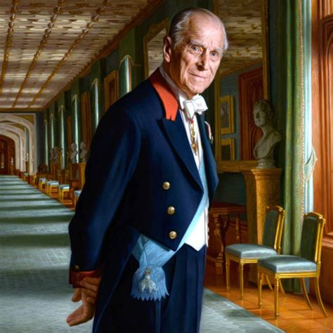 Prince Philip Retires in Style With Regal New Portrait - E ...