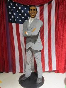 Barack Obama Lego Figure