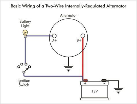 one wire alternator wiring diagram agnitum me isuzu npr radio wiring harness