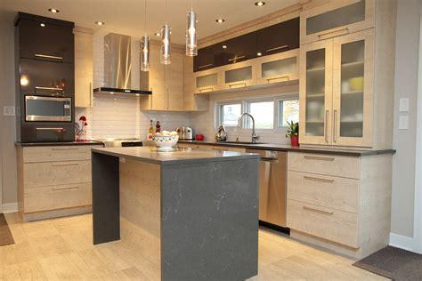 porte cuisine bois cuisine moderne polymère et porte structurable hdf