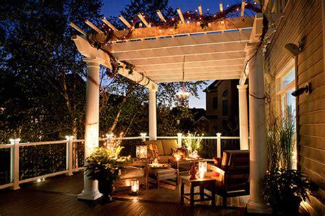 pergola lighting ideas  illuminate  outdoor space