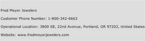 fred meyer phone number fred meyer jewelers customer service number toll free