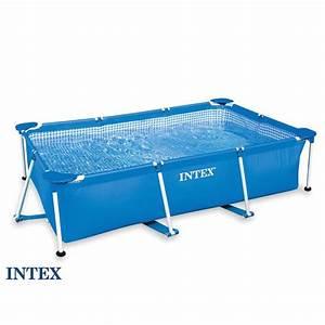 Piscine Hors Sol Rectangulaire Intex : piscine tubulaire rectangulaire 2 20x1 50x0 60 m achat vente piscine piscine tubulaire ~ Melissatoandfro.com Idées de Décoration