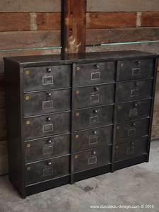 Meuble Industriel But : meuble industriel a clapet strafor 1950 ~ Teatrodelosmanantiales.com Idées de Décoration