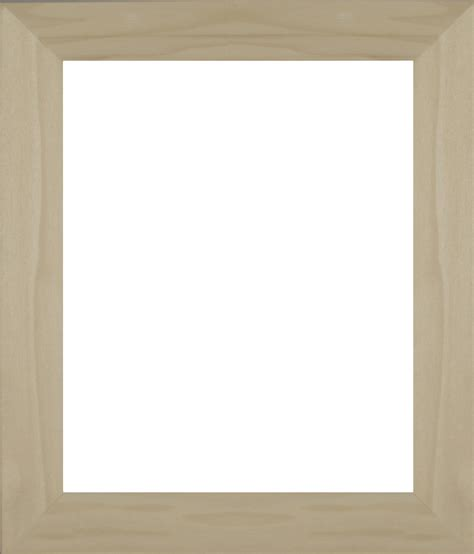 Unfinished Mini Frames With Glass