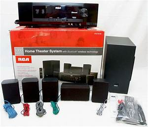 New Rca Rt2781be 1000w Bluetooth Home Theater Sound System