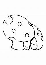 Coloring Mushrooms Pages Turnip Popular sketch template
