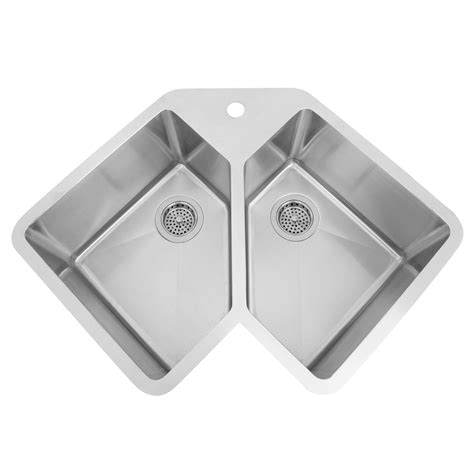 stainless steel corner kitchen sink undermount corner kitchen sink wendlerlaw 8232