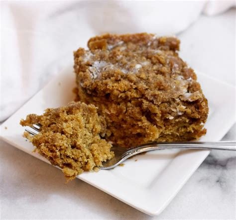 It cuts into 8 pieces rather. Gluten Free Zucchini Coffee Cake - The Summers Collective