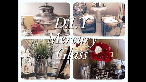 dollar tree faux mercury glass diy projects youtube