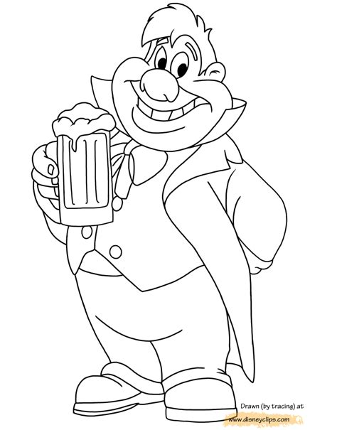 Kleurplaat And The Beast by And The Beast Coloring Pages 5 Disneyclips