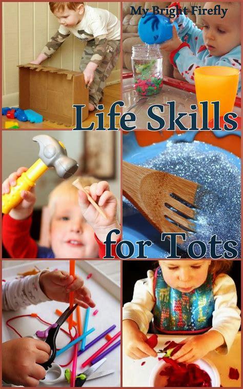 practical life skills  play preschool activities