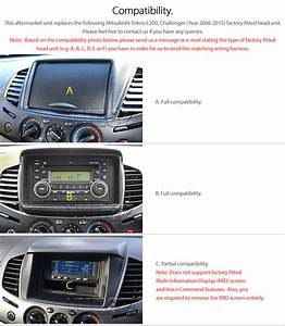 Android Car Mp3 Player Mitsubishi L200 Triton 2006