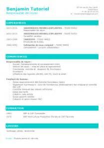 Un Resume In by Faire Un Cv