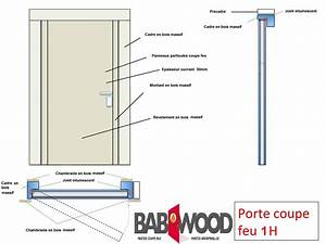 porte coupe feu en bois babwood With porte coupe feu norme