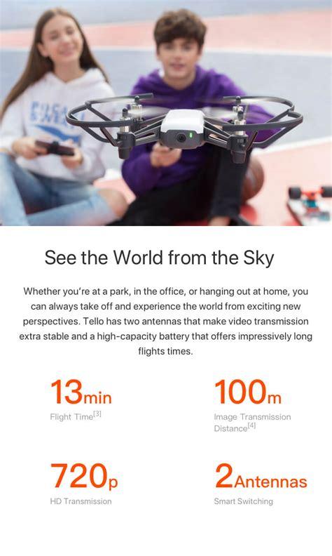 tello boost combo innovative uas drones