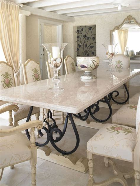 kitchen banquette furniture looking white marble dining table with black iron