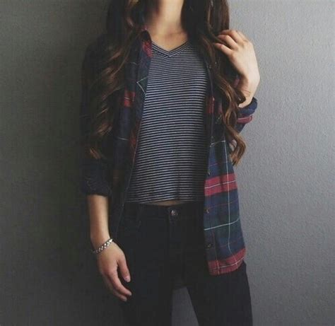 Flannel fashion | Tumblr