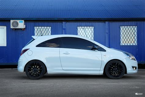 обвес Opc Line на Opel Corsa D
