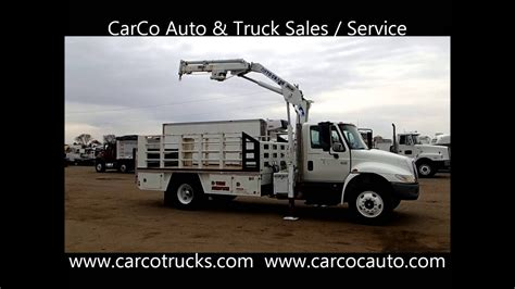 international tire service truck  sale  carco auto