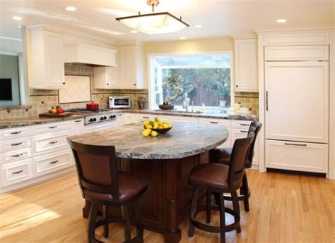 kitchen island with cooktop and seating kitchen island