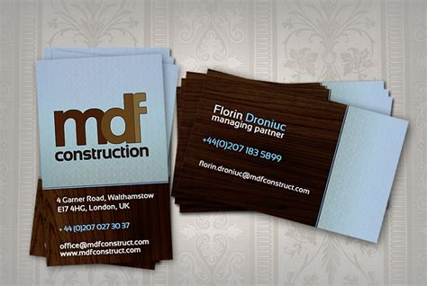 And the design is all yours. Top 28 Examples of Unique Construction Business Cards