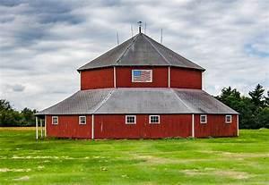 octagon barn otter township wikipedia With barn builders iowa