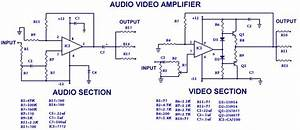 Audio And Video Amplifier Diagram