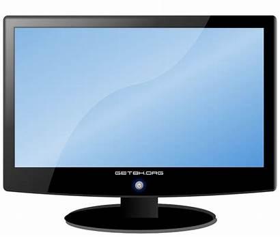 Computer Clip Screen Cliparts Monitor Clipart Attribution
