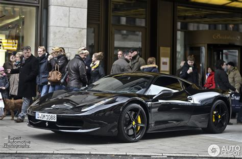 ferrari  italia anderson germany black carbon edition