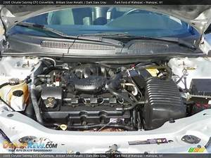 2005 Chrysler Sebring Gtc Convertible 2 7 Liter Dohc 24 Valve V6 Engine Photo  10