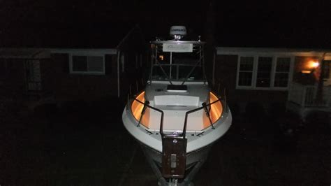 installing led lights in boats and yachts flexfire