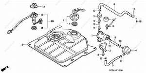 Honda Scooter 2006 Oem Parts Diagram For Fuel Tank