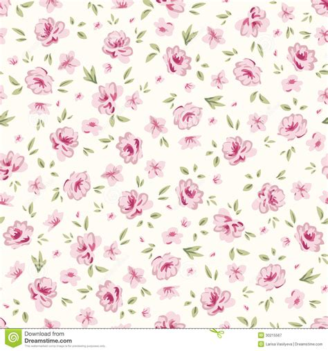 shabby chic floral pattern simple rose 2 stock image image of ornate repeat delicate 30215567