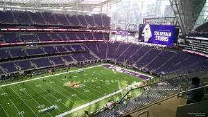 Vikings Stadium Seating Chart With Seat Numbers U S Bank Stadium Section 316 Minnesota Vikings