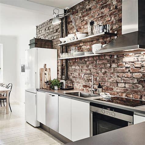 mur cuisine quel intérieur pour ma cuisine industrielle