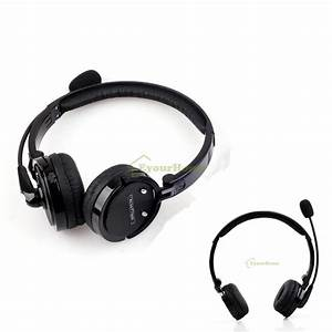 Over Head Noise Cancelling Wireless Bluetooth Stereo Boom