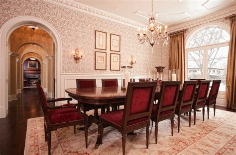 dining rooms homes   rich