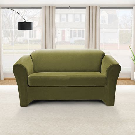 Sure Fit Sofa Covers Canada by Sure Fit Eastwood Stretch Loveseat Slipcover Walmart Canada