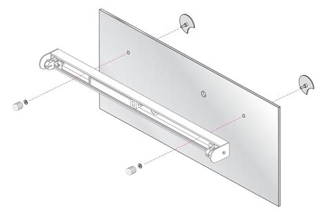 Bathroom Mirror Mounting Kits by Astro 0992 Mirror Mounting Kit For Bathroom Wall Light X2